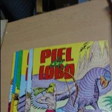 Tebeos: PIEL DE LOBO COLOSOS DEL CÓMIC 6 NUMEROS. Lote 136448560