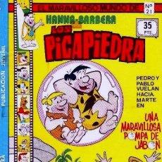Tebeos: EL MARAVILLOSO MUNDO DE HANNA BARBERA-LOS PICAPIEDRA- Nº 21 -1979--BUENO-RARO-BELLÍSIMO-9564. Lote 137658990