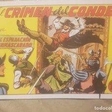 Tebeos: EL ESPADACHIN ENMASCARADO / EL CRIMEN DEL CONDE Nº 3 (FACSIMIL).. Lote 137865710