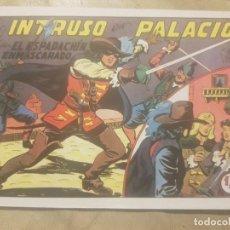 Tebeos: EL ESPADACHIN ENMASCARADO / EL INTRUSO EN PALACIO Nº 2(FACSIMIL).. Lote 137865890
