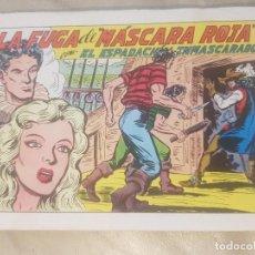 Tebeos: ESPADACHÍN ENMASCARADO / LA FUGA DE MÁSCARA ROJA. Nº 63 / 2ª EDICION. 1982.. Lote 137914394
