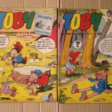 Tebeos: LOTE TOBY REVISTA PARA JÓVENES, NÚMEROS 6-13-14-18 (EDITORA VALENCIANA, 1983).. Lote 137914584
