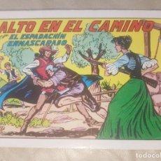 Tebeos: ESPADACHÍN ENMASCARADO / ALTO EN EL CAMINO. Nº 61 / 2ª EDICION. AÑOS 80.. Lote 137915734