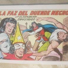Tebeos: ESPADACHÍN ENMASCARADO / LA FAZ DEL DUENDE NEGRO. Nº 71 / 2ª EDICION. AÑOS 80.. Lote 137915966