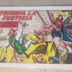 Tebeos: ESPADACHÍN ENMASCARADO / TRIUNFA LA JUSTICIA. Nº 62 / 2ª EDICION. AÑOS 80.. Lote 137916302