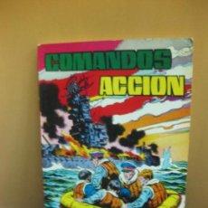 Tebeos: COMANDOS EN ACCION. RETAPADO Nº 4. CONTIENE LOS NUMEROS 34 - 35 - 36 - 37. VALENCIANA 1981. Lote 138221058