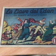 Tebeos: ROBERTO ALCAZAR Y PEDRIN Nº 139 LA LLAVE DEL EDEN (ORIGINAL ED. VALENCIANA) 1'25 PTS (COIM12). Lote 138626594