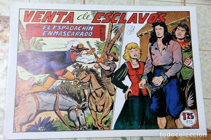 TEBEOS-COMICS CANDY - ESPADACHIN ENMASCARADO - Nº 76 - VALENCIANA - - RARO - *AA99 (Tebeos y Comics - Valenciana - Espadachín Enmascarado)