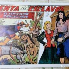 Tebeos: TEBEOS-COMICS CANDY - ESPADACHIN ENMASCARADO - Nº 76 - VALENCIANA - - RARO - *AA99. Lote 138701374