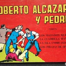 Tebeos: ROBERTO ALCAZAR Y PEDRIN N. 21, 22, 23 Y 24. Lote 138930778