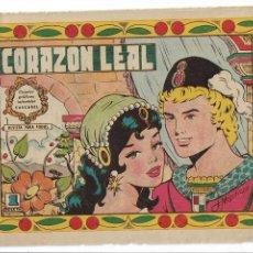 Tebeos: COMIC - CORAZON LEAL - NUM Y RTRO 7 .199 - PUMBY CASCABEL EDIT VALENCIANA 1958 . Lote 139191430