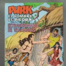 Tebeos: PURK EL HOMBRE DE PIEDRA - EXTRAORDINARIO DE VACACIONES 1975. Lote 139226526