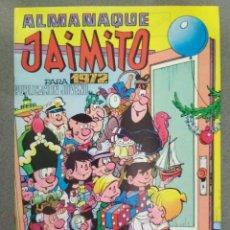 Tebeos: JAIMITO, ALMANAQUE PARA 1972. Lote 139239970