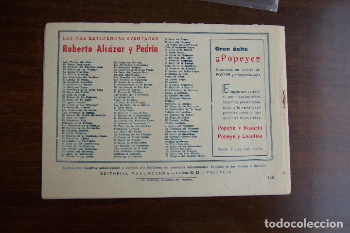Tebeos: Valenciana, lote 26 nº roberto alcázar contra el hombre diabólico - Foto 50 - 53541884