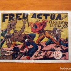 Tebeos: EL PEQUEÑO LUCHADOR, Nº 39, FRED ACTÚA - EDITORIAL VALENCIANA 1945. Lote 139313434