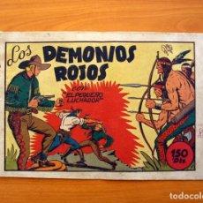 Tebeos: EL PEQUEÑO LUCHADOR, Nº 4, LOS DEMONIOS ROJOS - EDITORIAL VALENCIANA 1945. Lote 139314118