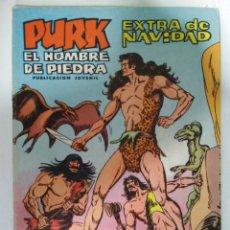 Tebeos: PURK EL HOMBRE DE PIEDRA, EXTRA DE NAVIDAD 1974. Lote 139425442