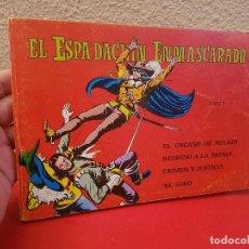 Tebeos: COMIC TEBEO EL ESPADACHÍN ENMASCARADO. TOMO 5 CON LOS Nº.:17,18,19,20 EDITORIAL VALENCIANA 1981. Lote 139465246