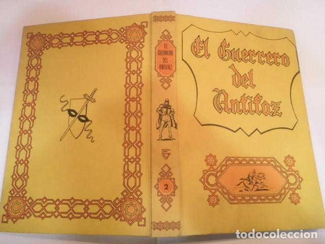 Tebeos: EL GUERRERO DEL ANTIFAZ - COMPLETA - ED. VALENCIANA - 343 COMICS EN 17 TOMOS TAPAS EDITORIAL - Foto 3 - 139663170