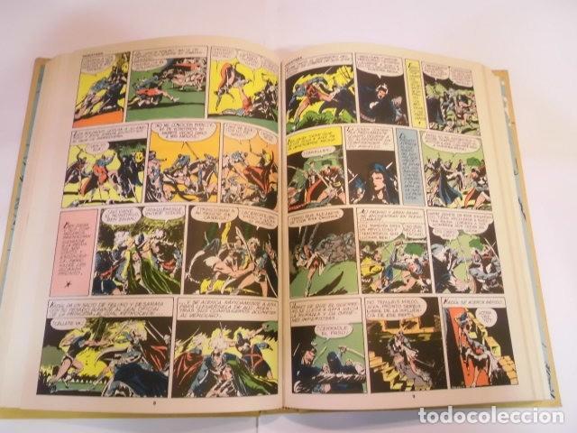 Tebeos: EL GUERRERO DEL ANTIFAZ - COMPLETA - ED. VALENCIANA - 343 COMICS EN 17 TOMOS TAPAS EDITORIAL - Foto 6 - 139663170