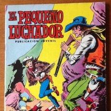 Tebeos: EL PEQUEÑO LUCHADOR, NUMERO 41, 1977. EL CAÑÓN DE LA MUERTE. VALENCIANA. Lote 139669162