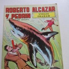 Giornalini: ROBERTO ALCAZAR Y PEDRÍN. Nº 9 . 2ª ÉPOCA. VUELVE GRAHAM EDITORIAL VALENCIANA.SDX1. Lote 139729490