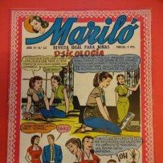 Tebeos: MARILO. ED. VALENCIANA. Nº 62. IMPECABLE. Lote 139825902