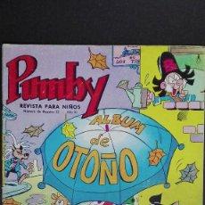 Livros de Banda Desenhada: PUMBY ÁLBUM OTOÑO 1966. Lote 139861162