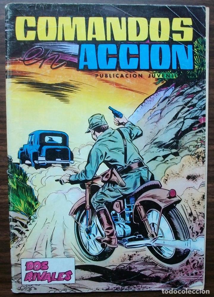 COMANDOS ACCION. PUBLICACION JUVENIL. DOS RIVALES. 1981 (Tebeos y Comics - Valenciana - Otros)