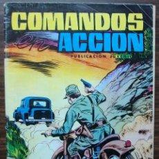 Tebeos: COMANDOS ACCION. PUBLICACION JUVENIL. DOS RIVALES. 1981. Lote 140183386