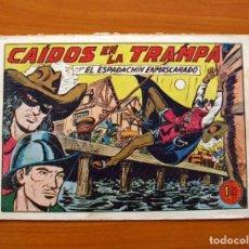 Tebeos: EL ESPADACHÍN ENMASCARADO - Nº 160, CAÍDOS EN LA TRAMPA - EDITORIAL VALENCIANA 1952. Lote 140223138