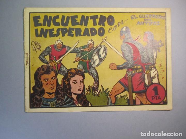 GUERRERO DEL ANTIFAZ, EL (1943, VALENCIANA) 18 · IV-1945 · ENCUENTRO INESPERADO (Tebeos y Comics - Valenciana - Guerrero del Antifaz)
