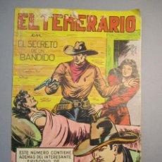 Tebeos: TEMERARIO, EL (1947, VALENCIANA) 5 · 1947 · EL SECRETO DE UN BANDIDO. Lote 140583370