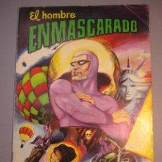 Tebeos: HOMBRE ENMASCARADO, EL (1980, VALENCIANA) 2 · 8-III-1980 · LA GRAN CARRERA. Lote 140664510