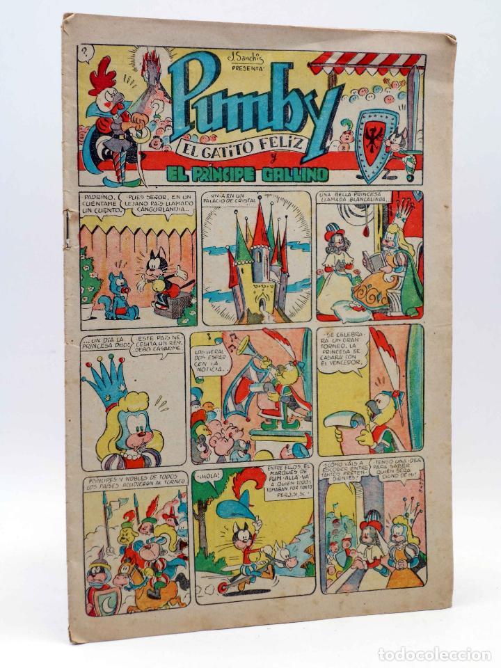 PUMBY 16. SIN CUBIERTAS (VVAA) VALENCIANA, 1955. ORIGINAL (Tebeos y Comics - Valenciana - Pumby)