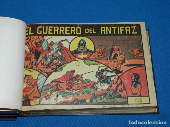 (M4) EL GUERRERO DEL ANTIFAZ , LOTE DEL NUM 1 AL NUM 60 , ENCUADERNADO EN DOS VOLUMENES (Tebeos y Comics - Valenciana - Guerrero del Antifaz)