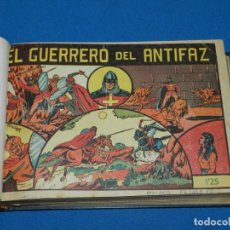 Tebeos: (M4) EL GUERRERO DEL ANTIFAZ , LOTE DEL NUM 1 AL NUM 60 , ENCUADERNADO EN DOS VOLUMENES. Lote 140914526