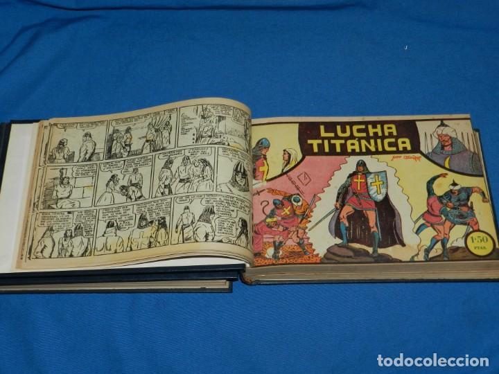 Tebeos: (M4) EL GUERRERO DEL ANTIFAZ , LOTE DEL NUM 1 AL NUM 60 , ENCUADERNADO EN DOS VOLUMENES - Foto 3 - 140914526