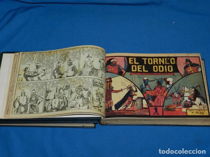 Tebeos: (M4) EL GUERRERO DEL ANTIFAZ , LOTE DEL NUM 1 AL NUM 60 , ENCUADERNADO EN DOS VOLUMENES - Foto 4 - 140914526