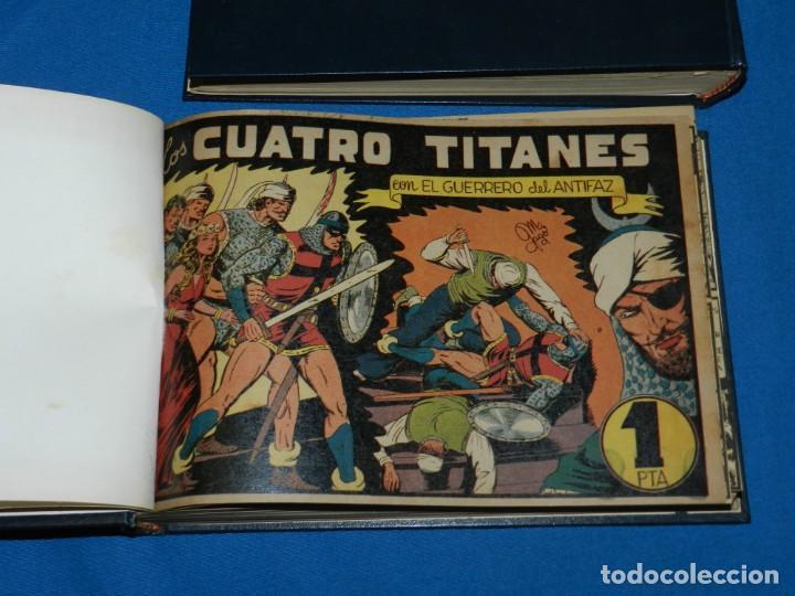 Tebeos: (M4) EL GUERRERO DEL ANTIFAZ , LOTE DEL NUM 1 AL NUM 60 , ENCUADERNADO EN DOS VOLUMENES - Foto 6 - 140914526