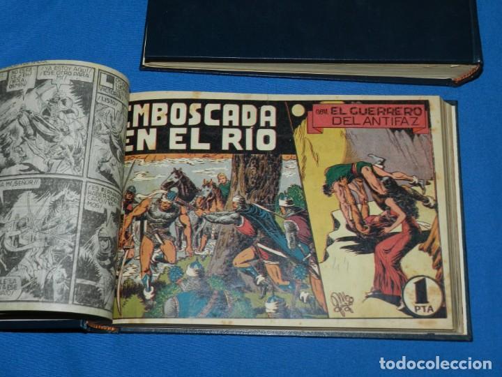 Tebeos: (M4) EL GUERRERO DEL ANTIFAZ , LOTE DEL NUM 1 AL NUM 60 , ENCUADERNADO EN DOS VOLUMENES - Foto 7 - 140914526