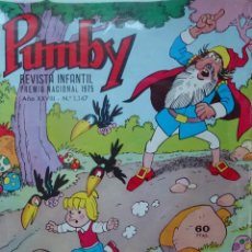 Tebeos: PUMBY- COMICS INFANTIL AÑOS 80 - Nº 1147 --- 069. Lote 141489298