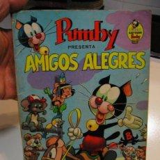 Tebeos: LIBROS ILUSTRADOS PUMBY Nº 1 EDITORIAL VALENCIANA 1967. 35 PTS. AMIGOS ALEGRES . Lote 141673258