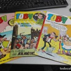 Tebeos: TOBY EXTRA / LOTE 3 NÚMEROS: 12, 16, 18 / EDITORIAL VALENCIANA 1984. Lote 141763754