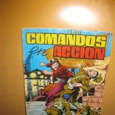 Tebeos: COMANDOS EN ACCION. MARES DE CHINA. ED. VALENCIANA 1980.. Lote 141809550