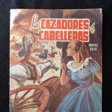 Tebeos: LOS CAZADORES DE CABELLERAS. SELECCIÓN AVENTURAS ILUSTRADAS. 1ª ED. 1959. EDITORIAL VALENCIANA. Lote 142027974