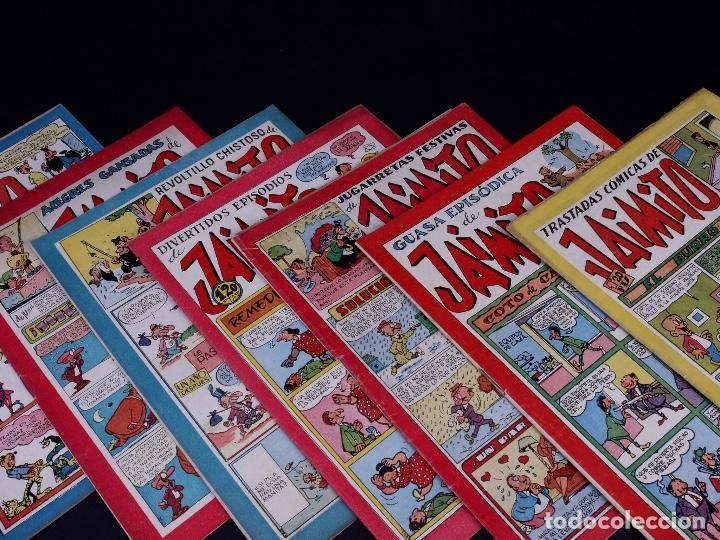 JAIMITO. LOTE DE 7 EJEMPLARES. VALENCIA 1947 (Tebeos y Comics - Valenciana - Jaimito)