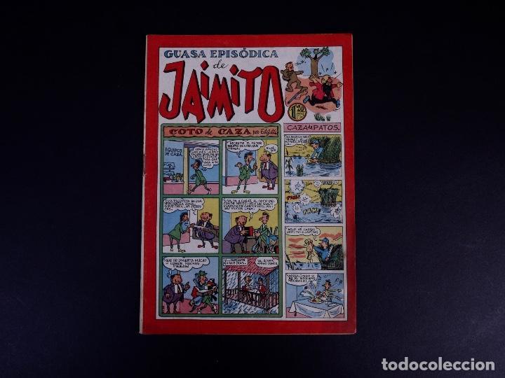 Tebeos: JAIMITO. LOTE DE 7 EJEMPLARES. VALENCIA 1947 - Foto 7 - 142095934