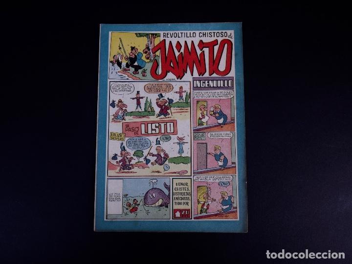 Tebeos: JAIMITO. LOTE DE 7 EJEMPLARES. VALENCIA 1947 - Foto 13 - 142095934