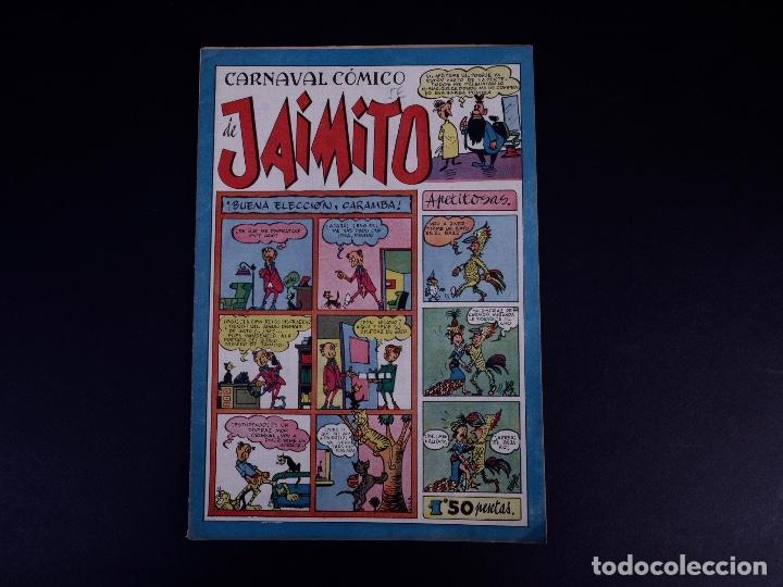 Tebeos: JAIMITO. LOTE DE 7 EJEMPLARES. VALENCIA 1947 - Foto 17 - 142095934